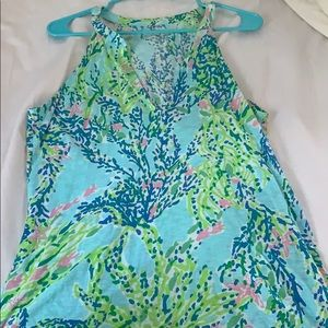 Lilly Pulitzer Blue Haven tank
